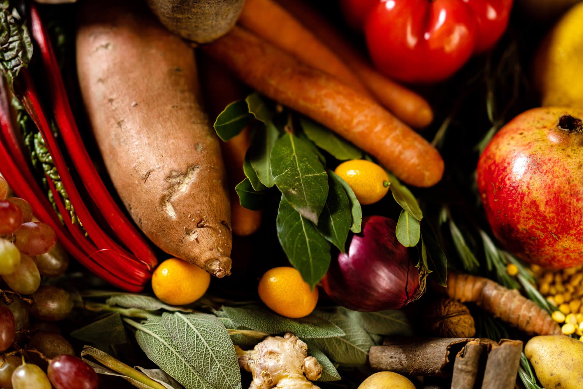 Einkaufsliste fünf Elemente Küche